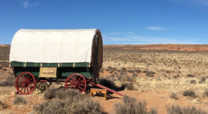 Spend The Night Under The Stars In A Covered Wagon At This Arizona Glamping B&B