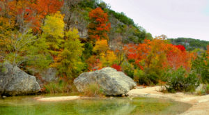 You'll Be Pleased To Hear That Texas' Fall Foliage Is Predicted To Be Bright And Bold This Year
