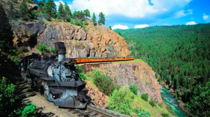 This Colorado Brew Train Is One Of The Most Scenic Ways To See The West