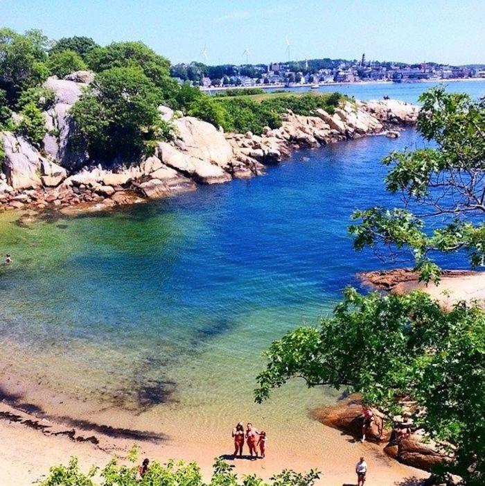 Ma Beach: Half Moon Beach In Gloucester, Massachusetts Has The