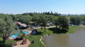 The Massive Family Campground In Iowa That's The Size Of A Small Town