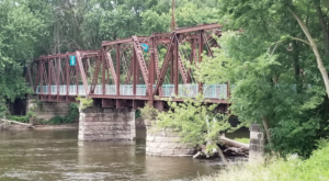 The Beautiful Bridge Hike In Michigan That Will Completely Mesmerize You
