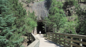 Follow This Abandoned Railroad Trail For One Of The Most Unique Hikes In South Dakota