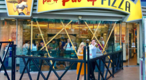 The Pizza At This Delicious Nevada Eatery Is Bigger Than The Table