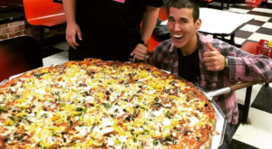 The Pizza At This Delicious Maryland Eatery Is Bigger Than The Table