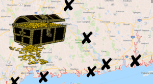 These 7 Spots In Connecticut Are Rumored To Have Buried Pirates Treasure
