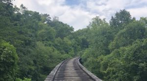 Follow This Abandoned Railroad Trail For One Of The Most Unique Hikes In Ohio