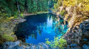 There's A Hidden Oasis Waiting For You At The End Of This Oregon Trail