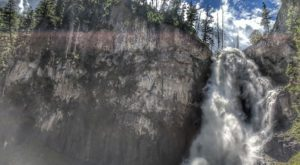 The Canyon Waterfall Hike In Wyoming That Will Overwhelm You With Natural Beauty