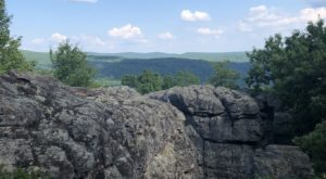 Take This Hike To Reach The Most Unique Scenic Area In Arkansas