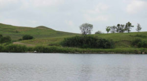 This Prairie Swimming Hole In North Dakota Is So Hidden You'll Probably Have It All To Yourself