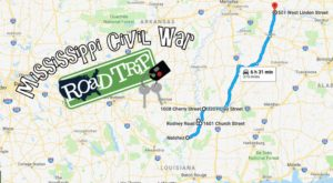 Follow This Civil War Route To Some Of Mississippi's Most Historic Sites