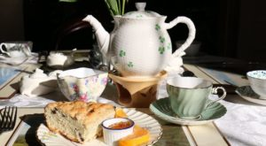 You'll Feel Like Royalty At This Off The Beaten Path Tea Room In Maine