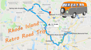 Take This Retro Themed Road Trip Through Rhode Island For A Real Blast From The Past