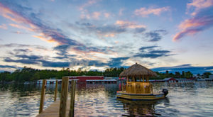 A Trip To This Floating Tiki Bar In New Hampshire Is The Ultimate Way To Spend A Summer's Day