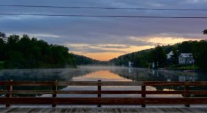 A Trip To Vermont's Only Floating Bridge Is One You'll Never Forget