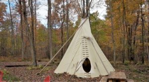 Spend The Night Under A TePee At This Unique Maryland Glampground