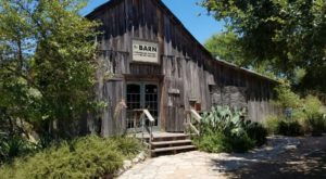 There's So Much More To This Unique Barn Near Austin Than Meets The Eye