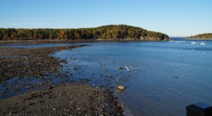 Few People Know There's A Maine Island You Can Walk To