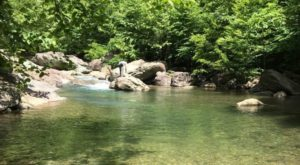 This Waterfall Swimming Hole In Virginia Is So Hidden You'll Probably Have It All To Yourself