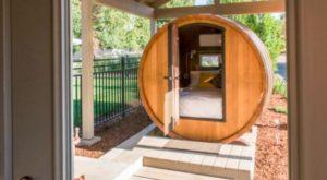 Sleep Inside A Giant Wine Barrel At This One-Of-A-Kind Washington Getaway