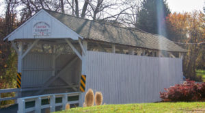 The Enchanting County Near Pittsburgh That's Home To 7 Covered Bridges