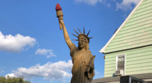 Most People Don't Know There's A Little Statue Of Liberty In West Virginia