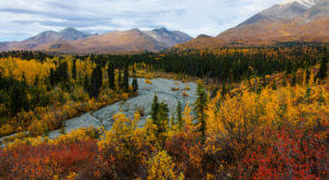 9 Short And Sweet Fall Hikes In Alaska With A Spectacular End View