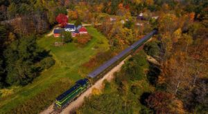 The Spectacular Fall Foliage Train Ride In Vermont You Don't Want To Miss
