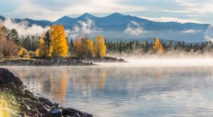 Take A Trip Down This Colorado Lake That Comes Alive With Fall Colors