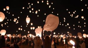 There's A Magnificent Lantern Launch In Northern California That You Don't Want To Miss