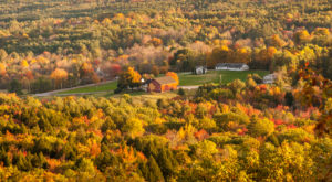 Here Are The 9 Best Places For A Bird's-Eye View Of Maine's Fall Foliage