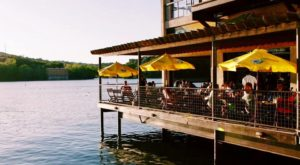You'll Love Dining On The Freshest Seafood Around At This Lakeside Austin Restaurant