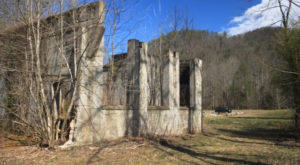 Most People Have Long Forgotten About This Vacant Ghost Town In Rural North Carolina