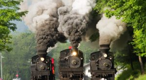 Ride The Rails Through West Virginia's Countryside On This Historic Train