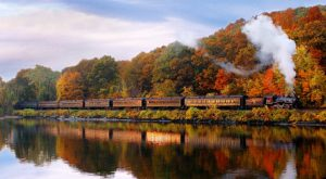 This 12-Mile Train Ride Is The Most Relaxing Way To Enjoy Connecticut Scenery