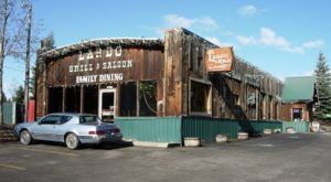 This Western Style Restaurant In Idaho Was Built On The Remains Of An Old Mining Town