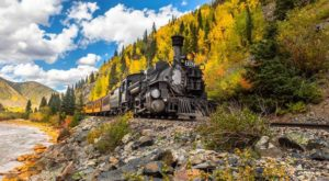 This 45-Mile Train Ride Is The Most Relaxing Way To Enjoy Colorado Scenery