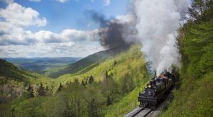 This 22-Mile Train Ride Is The Most Relaxing Way To Enjoy West Virginia Scenery