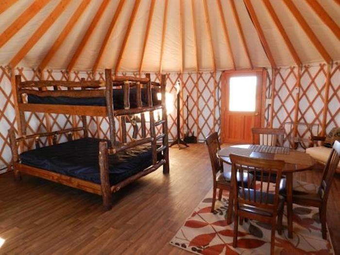 Spend The Night In These Yurts At Dead Horse Point State