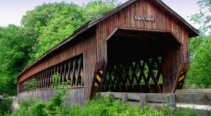 The Enchanting County In Ohio That's Home To 18 Covered Bridges