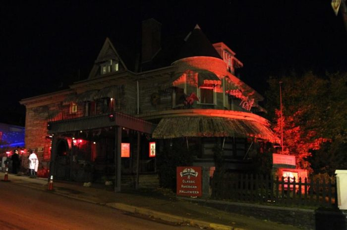 castle blood this old funeral home in pennsylvania is now a haunted
