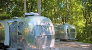 The Secluded Glampground In Rhode Island That Will Take You A Million Miles Away From It All