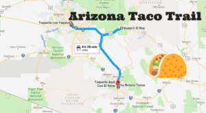 Your Tastebuds Will Go Crazy For This Amazing Taco Trail In Arizona