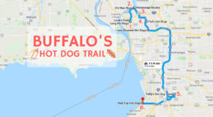 This Unexpectedly Awesome Buffalo Hot Dog Trail Will Have You Licking Your Lips