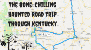 The Haunted Road Trip That Visits The Most Bone-Chilling Places In Kentucky