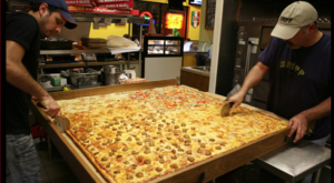 The Pizza At This Delicious Southern California Eatery Is Bigger Than The Table