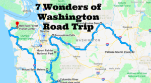 This Scenic Road Trip Takes You To All 7 Wonders Of Washington