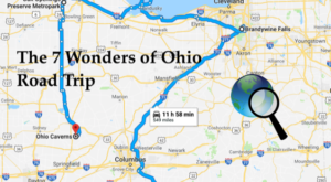 This Scenic Road Trip Takes You To All 7 Wonders Of Ohio