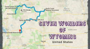 This Scenic Road Trip Takes You To All 7 Wonders Of Wyoming